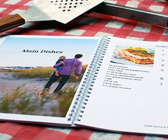 Family Reunion Cookbooks